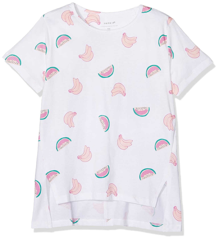 Name It Nkfvia SS Top Box I T-Shirt Fille