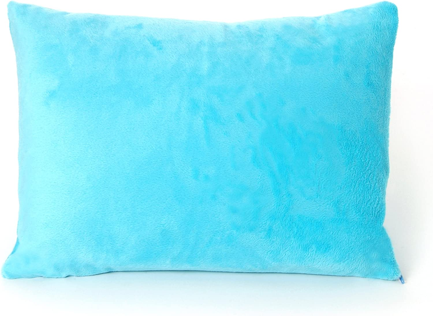 "My First Premium Memory Foam Kids Toddler Pillow with Pillowcase, Blue, 12"" x 16"""