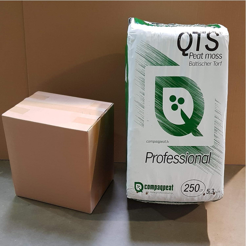 QTS/® Wei/ßtorf 50 L//Torf Hochmoortorf 0-10 mm unbehandlelt unged/üngt naturbelassen