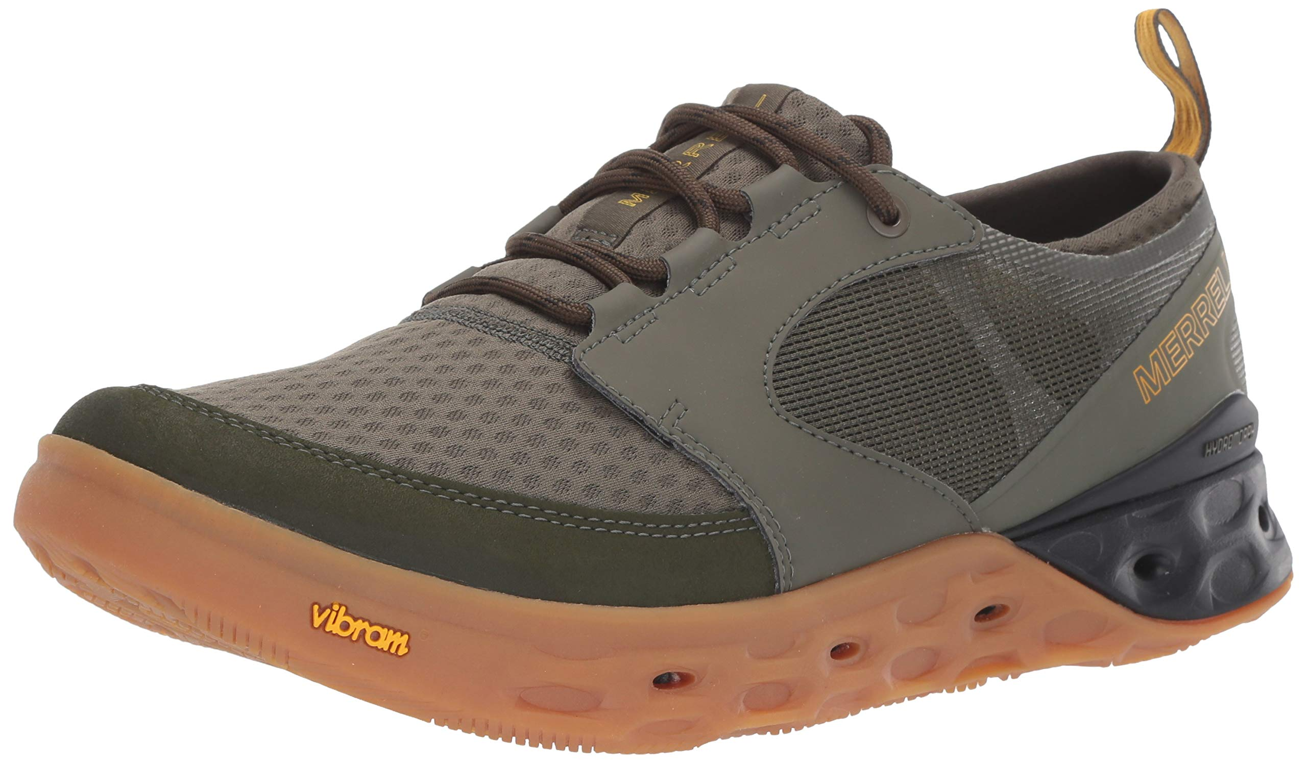 Merrell Men's TIDERISER LACE Water Shoe, Olive, 11.5 M US