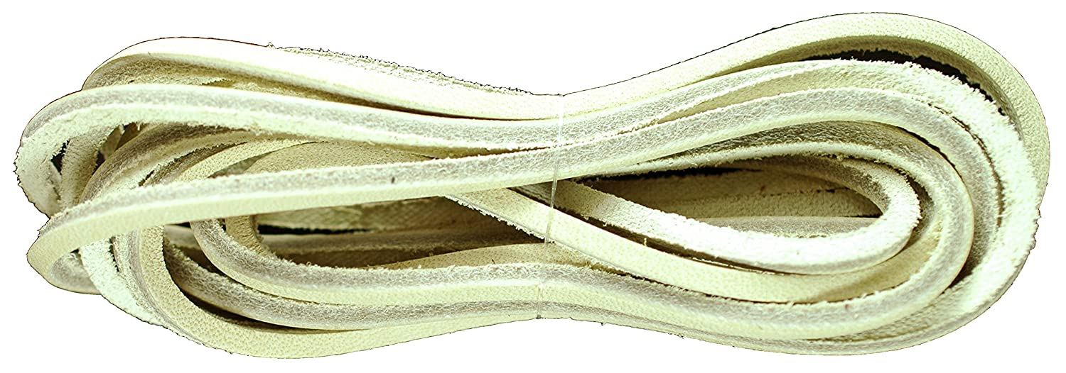 b23eb362026d Leather Square Cut 120cm x 3 to 4mm Deck Shoe Boot Laces Thongs   Amazon.co.uk  Shoes   Bags
