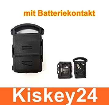 Kis® 2 Botones Carcasa para Llave de Contacto con batería para Opel Corsa C + MERIVA A + TIGRA B: Amazon.es: Electrónica