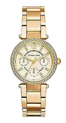 Michael Kors Reloj de mujer marcas Relojes Oro mk6056: Amazon.es: Relojes