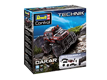 Buy Revell Control 24710 Technik Rc Car Kit Dakar With 27 Mhz Remote Controlled Offroader For Easy To Assemble Fit Large Grip Tires Online At Low Prices In India Amazon In