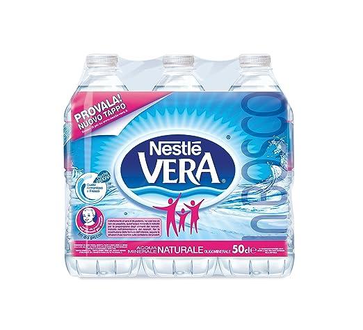 15 opinioni per Nestlè Vera, Acqua Minerale Naturale Oligominerale, Bottiglia 0.5L (Confezione
