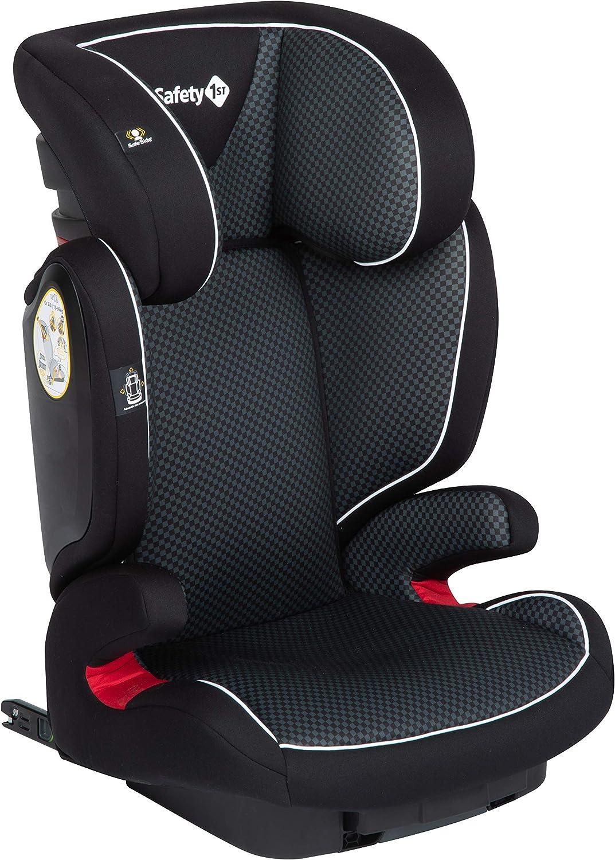 Safety 1st Si/ège Auto pour Enfant Road Fix Groupe 2//3 Isofix Ajustable en Hauteur 3 /à 12 Ans Pixel Black 15-36 kg
