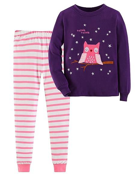 Amazon.com: Gorboig - Conjunto de ropa de dormir para niñas ...