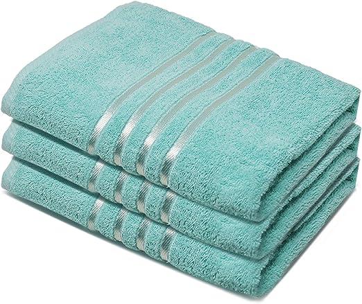 3 x Hojas De Baño Super Jumbo algodón egipcio peinado Gran Tamaño 100 X 210 Cm