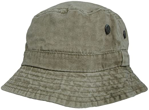 25286372134fb Mens or Womens 100% Cotton Bucket Hats Pre Washed Faded Look Bush Hat Sun  Cap: Amazon.co.uk: Clothing