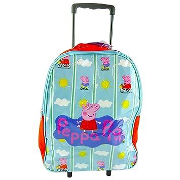 Peppa Pig Bolsa de transporte plegable para niños (tamaño grande): Amazon.es: Juguetes y juegos