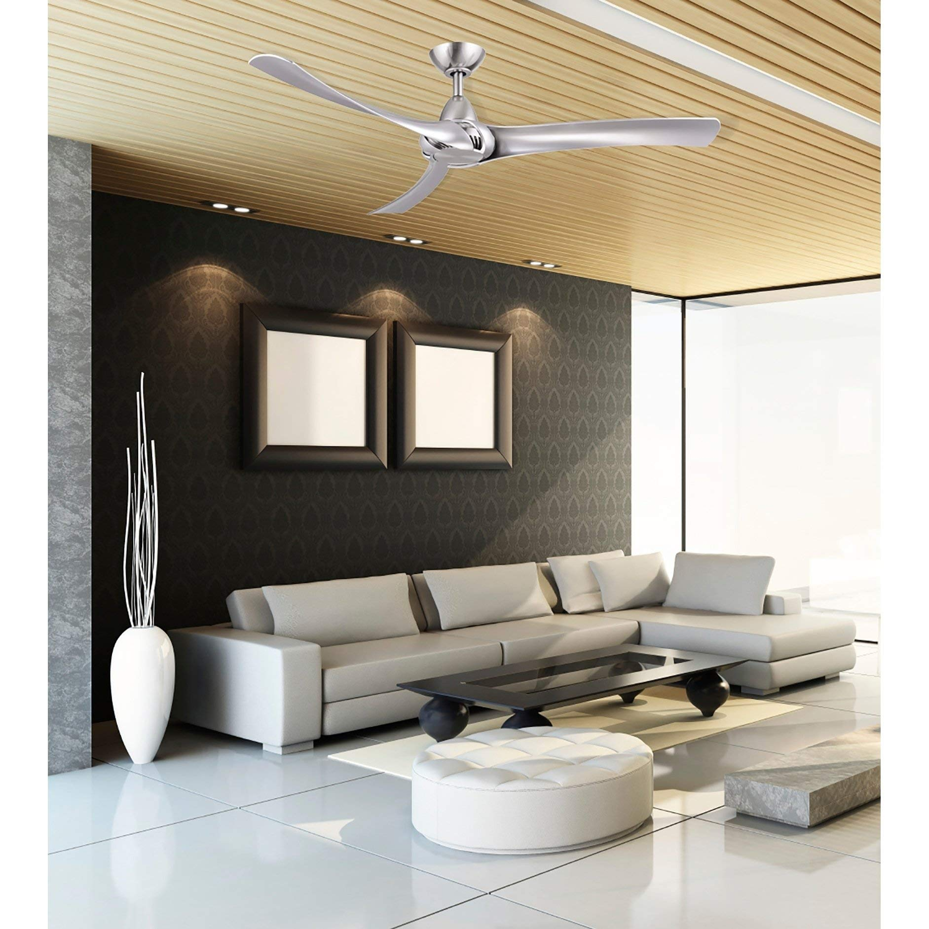 Droid 52'' Ceiling Fan with Wall Control Matte Black