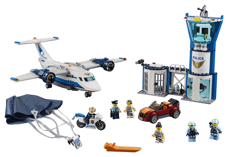 Amazoncom Lego City Sky Police Air Base 60210 Building Kit New