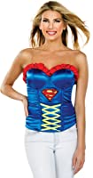 Secret Wishes DC Comics Justice League Corset Top with Logo