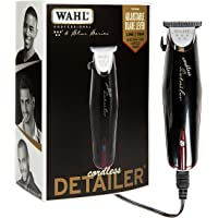 Wahl Professional 5-Star Cordless Detailer #8163 – Great for Professional Stylists and Barbers – Rotary Motor - Black