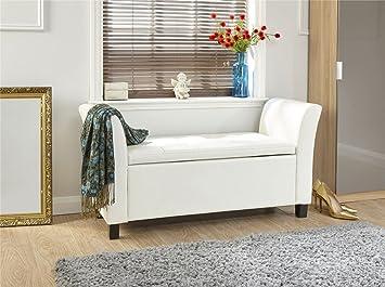 Miraculous Deerchair Furniture Verona Window Seat Ottoman Large Faux Machost Co Dining Chair Design Ideas Machostcouk