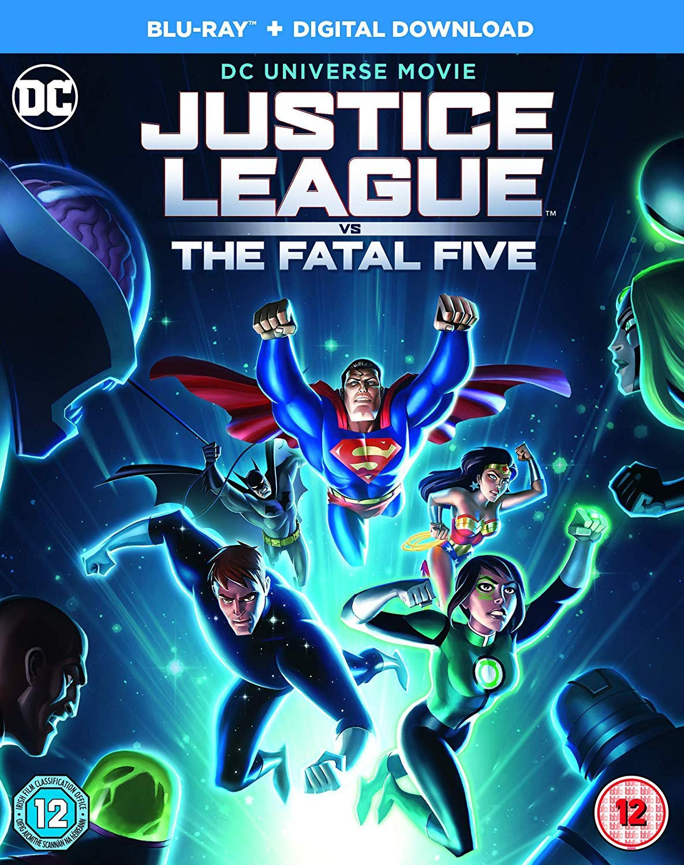 Amazon Com Justice League Vs The Fatal Five Blu Ray Elyes Gabel Diane Guerrero Sam Liu Movies Tv