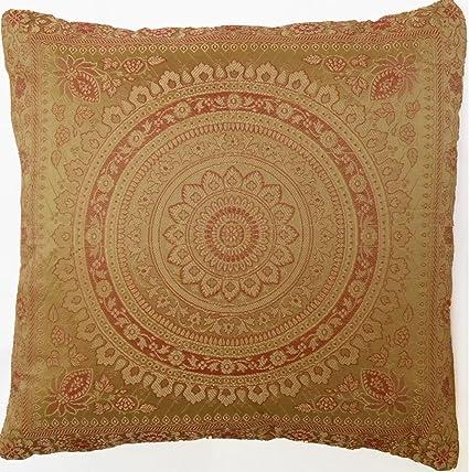 GANESHAM Handicraft - Funda de cojín para decoración del ...