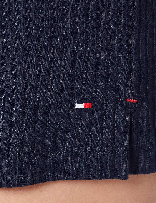 Tommy Hilfiger Damen Rib Short Schlafanzughose