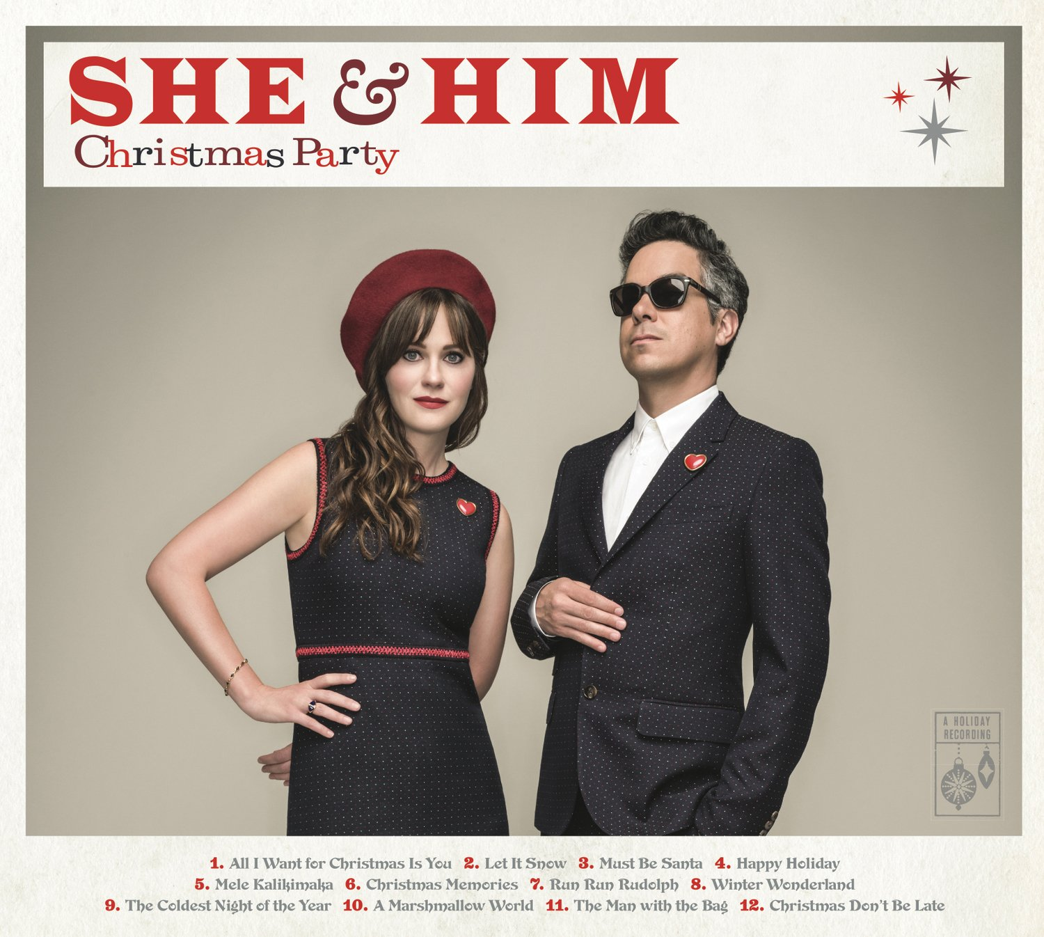 She And Him Christmas.Christmas Party