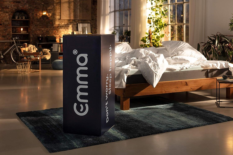 Emma Colchón 180x200 - Colchones visco de Espuma Cama Doble Memory Foam - Transpirable y máximo Confort (Disponible en 19 Medidas): Amazon.es: Hogar