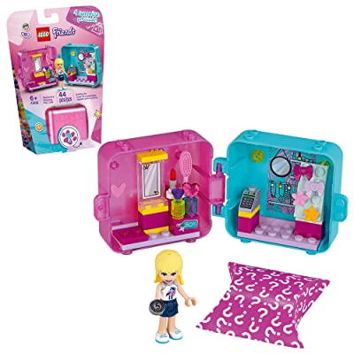 LEGO Friends Stephanie's Shopping Play Cube 41406 Building Kit, Mini-Doll Set That Promotes Creative Play, New 2020 (44 Pieces): Toys & Games