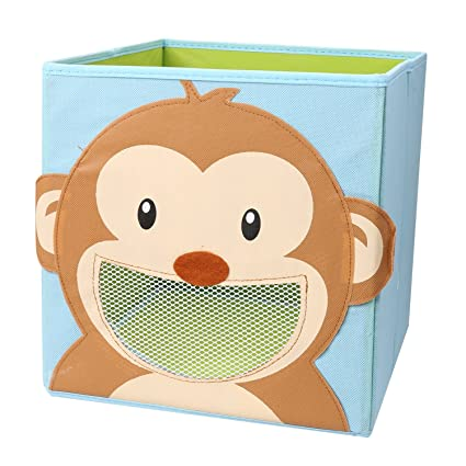 Children/'s Books Lion Foldable Clothes Meshela Storage Box For Childrens Bedroom Washable Cartoon Toy Box Suitable for Toys