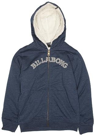 BILLABONG - Sudadera para niño, Talla 8 Years - Talla Inglesa, Color Azul (