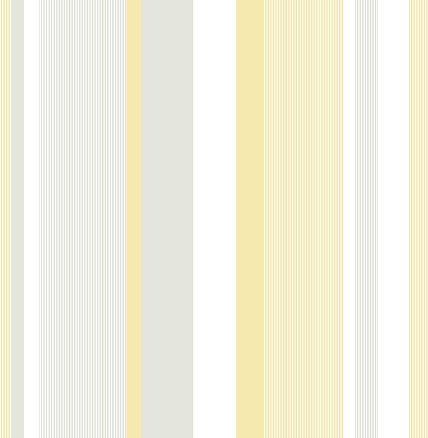 Wall Pops NU1403 Yellow Awning Stripe Peel and Stick Wallpaper