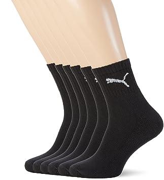 Puma - Juego de 6 pares de calcetines unisex, con rizo en la suela: Amazon.es: Deportes y aire libre