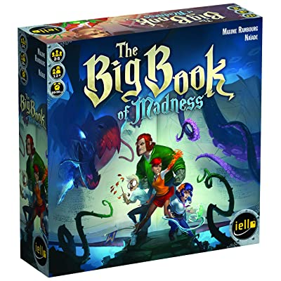 IELLO The Big Book of Madness Board Game: Toys & Games [5Bkhe1402170]