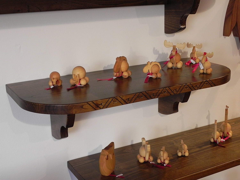 Come Costruire Una Cassapanca Sarda.Mensole In Legno Arte Sarda Amazon It Handmade