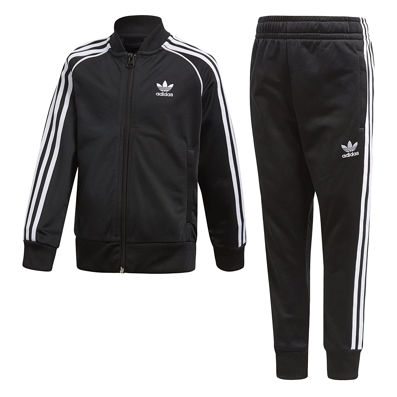 016dd177ed3 Amazon.com: adidas Originals Boys' Originals Trefoil Superstar Tracksuit:  Clothing