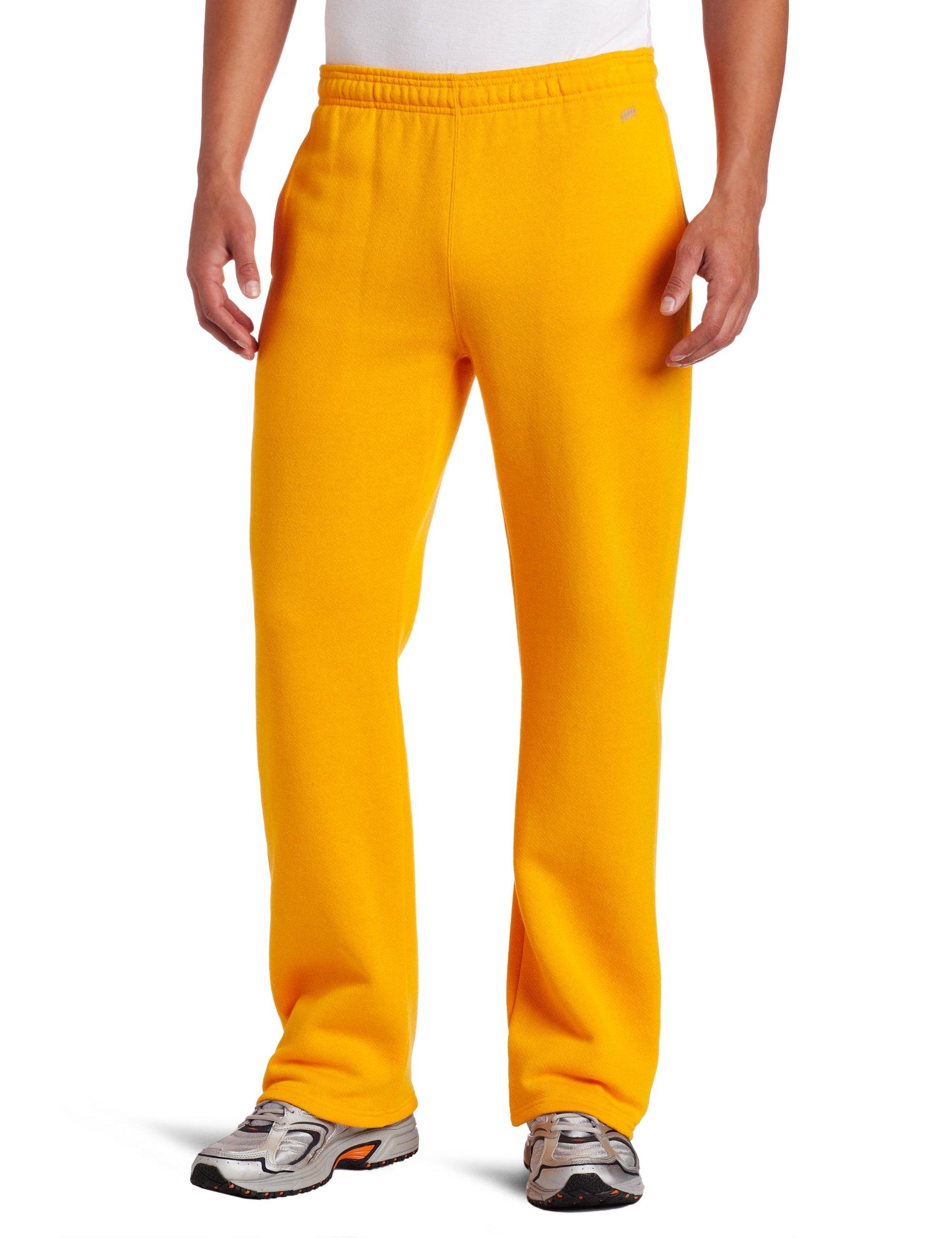 Soffe Men's Training Fleece Pocket Pant Gold Small