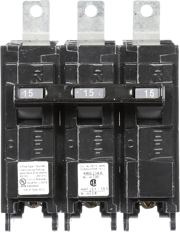 No Box BL Type Siemens B3100HH 100 Amp 240 Volt Bolt On Circuit Breaker New!