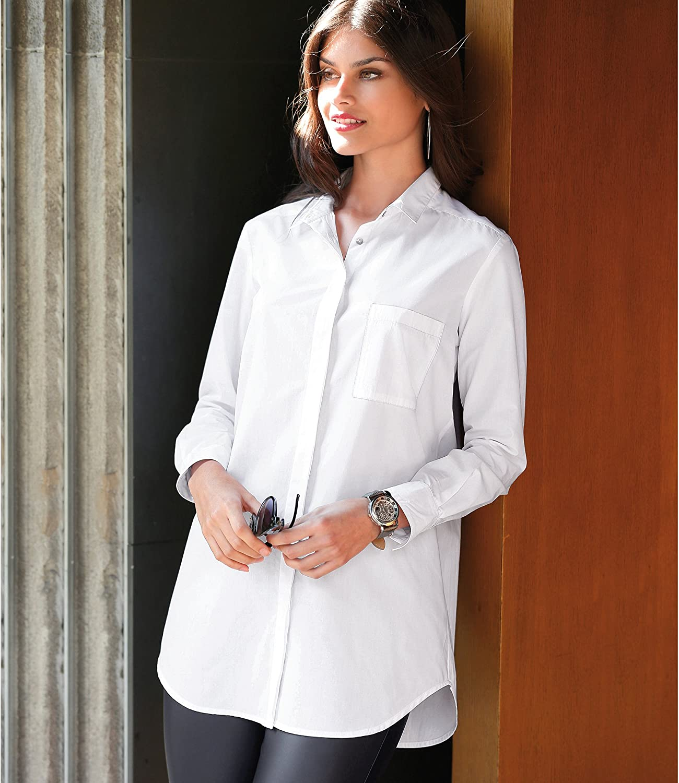 VENCA Camisa Oversize Canes� Trasero Mujer - 001544: Amazon.es: Ropa y accesorios