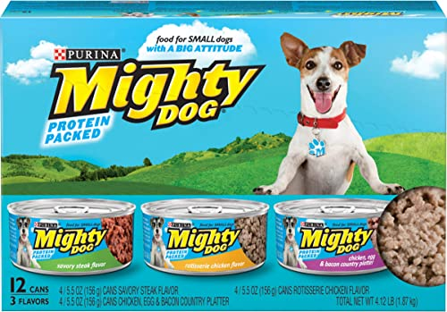 Purina Mighty Dog Ground Wet Dog Food Variety Pack