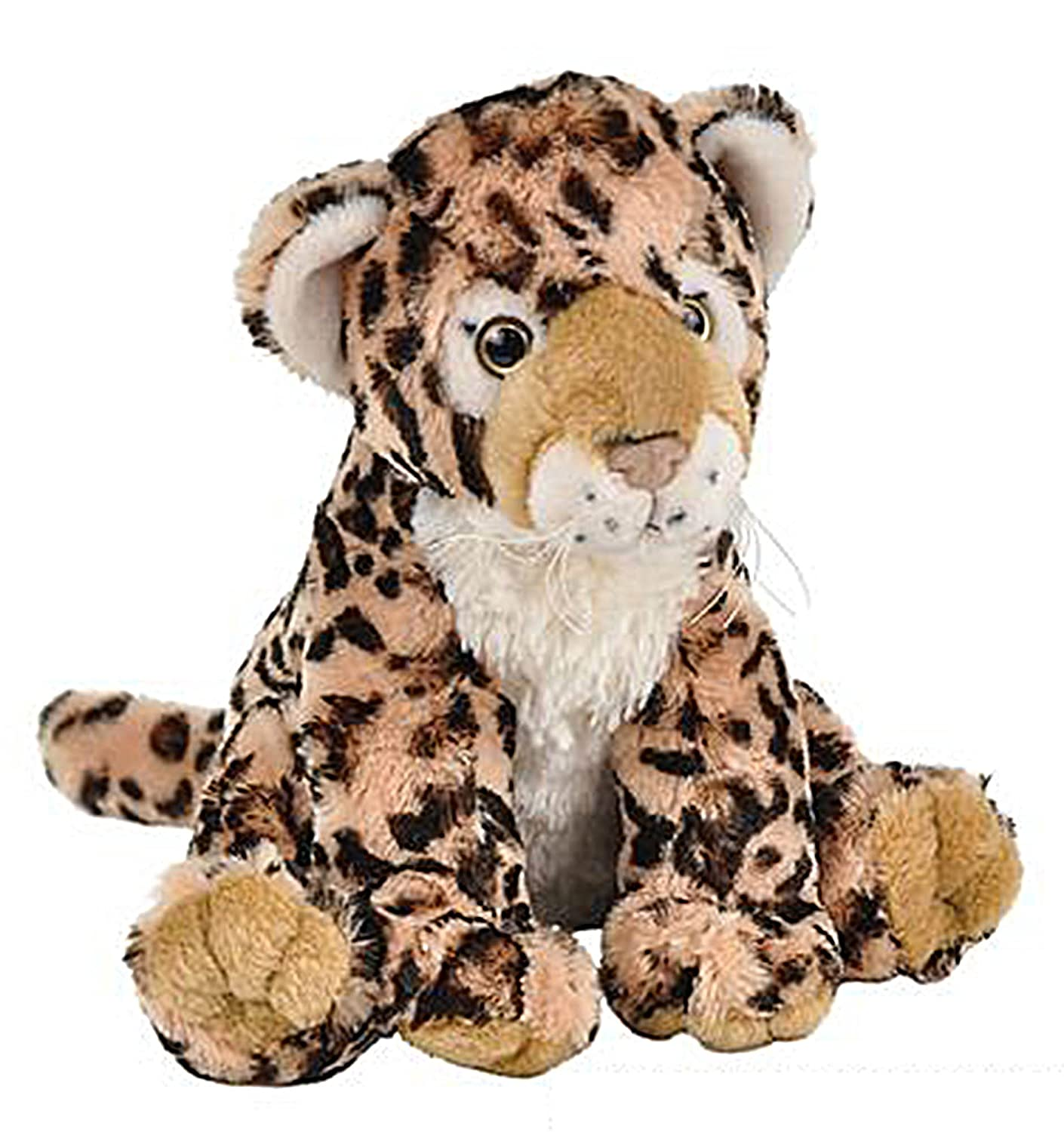 Wildlife Tree 11 Inch Leopard Stuffed Animal Floppy Plush Species Collection Species Collection