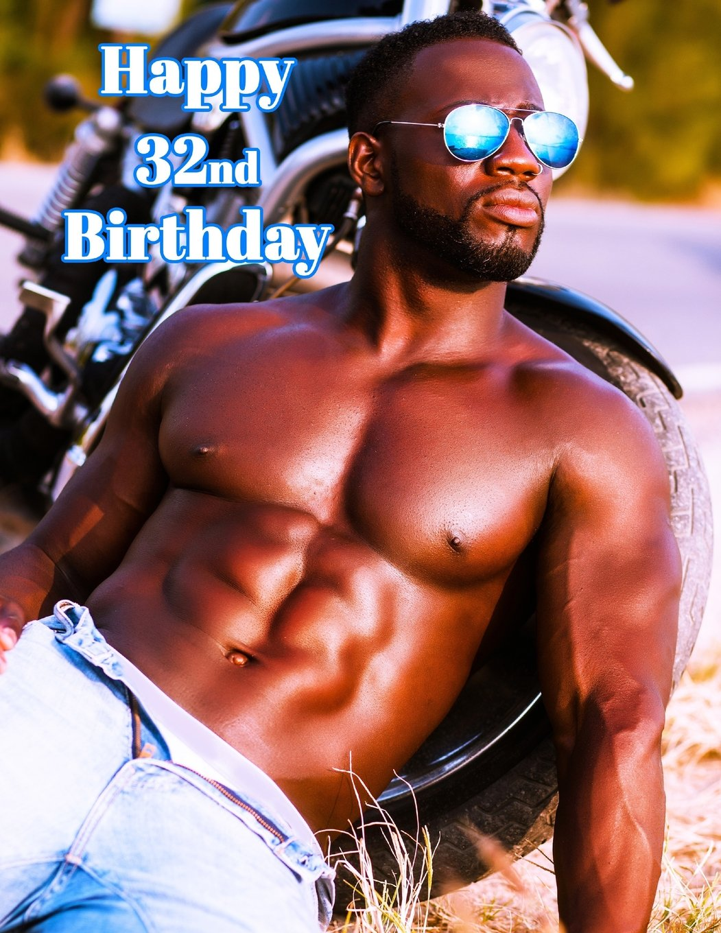 """Read Online Happy 32nd Birthday: Sexy Journal, Notebook, Diary, 365 Lined Pages, Birthday Gifts for 32 Year Old, 8 1/2"""" x 11"""" pdf epub"""