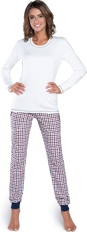 Italian Fashion IF Pijama Camiseta y Pantalones Mujer IFS18021