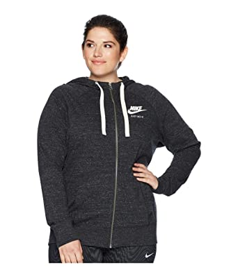 1aabe823c Amazon.com: Nike NSW Gym Vintage Full Zip Hoodie (Size 1X-3X) (3X ...