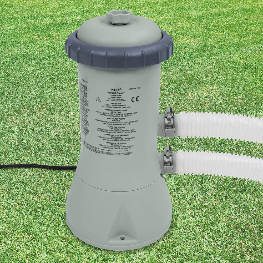 Intex 28638 - Depuradora de cartucho tipo A 3.778 litros/hora ...