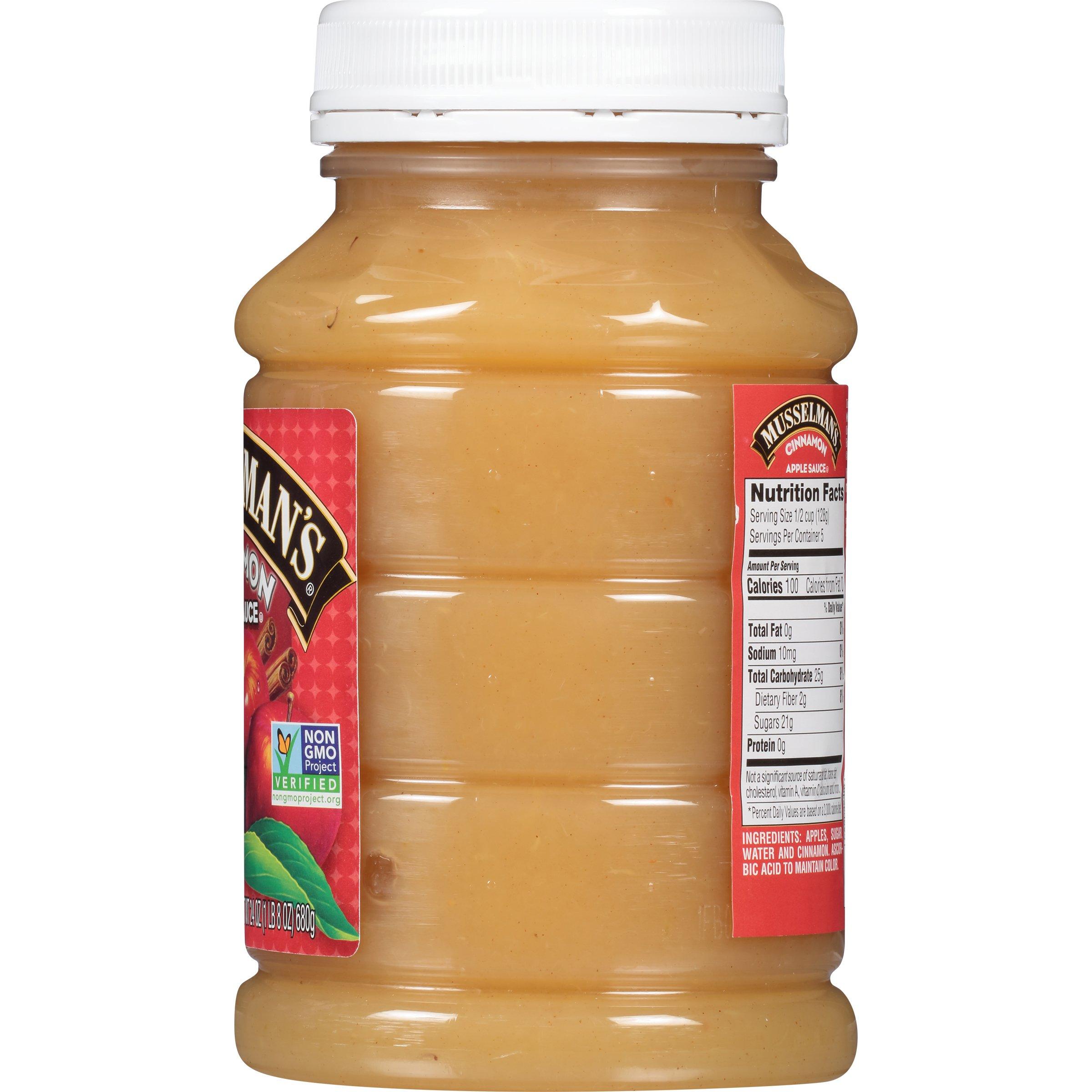 Musselman's Cinnamon Apple Sauce, 24 Ounce (Pack of 12) by Musselmans (Image #4)
