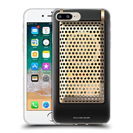 Official Star Trek Communicator Closed Gadgets Soft Gel Case for iPhone 7  Plus/iPhone 8 Plus