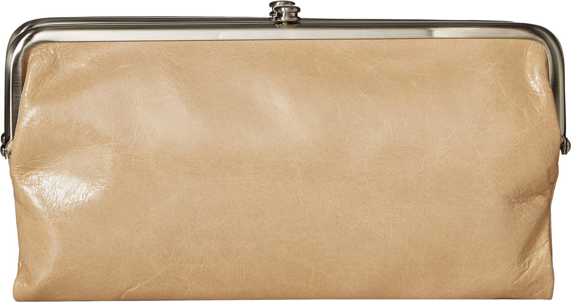 Hobo Womens Lauren Vintage Wallet Clutch Purse (Parchment)