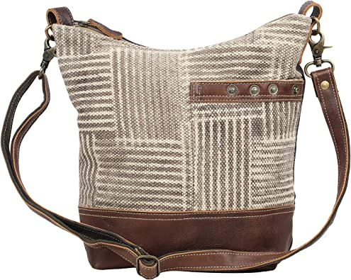 Amazon Com Myra Bag Coffee Upcycled Canvas Leather Shoulder Bag S 1557 Shoes Enjoy great deals, fastest delivery and cash on delivery in ksa. myra bag coffee upcycled canvas leather shoulder bag s 1557