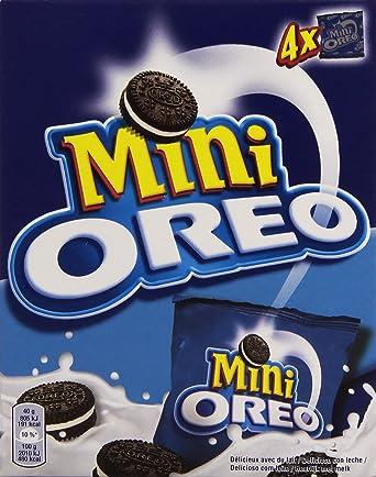 Oreo - Mini - Galletas - 160 g - [pack de 4]: Amazon.es ...