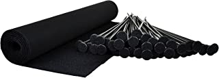 product image for Gun Storage Solutions Rifle Rods Starter Kit with Shelf Liner Gun Organizer System Store More Guns Easy Access for Safety with Nylon Woven Loop Fabric