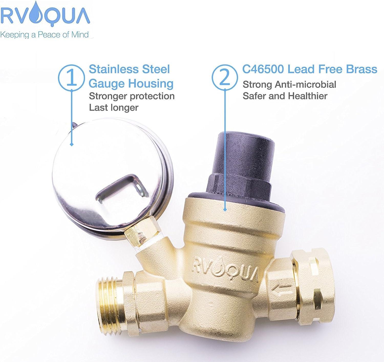 God Sealing No Leakage Reducing Valve Sturdy Practical High Pressure Resistance Wear Resistant Propane Regulator for Home Kitchen