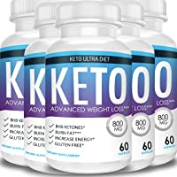Keto Ultra Diet - Advanced Weight Loss - Ketosis Supplement (5 Month Supply)