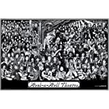 Rock & Roll Theatre Poster Poster Print, 36x24